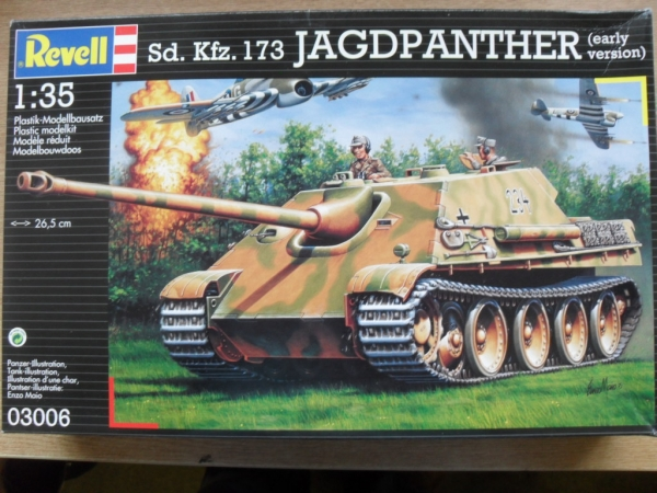 03006 Sd.Kfz.173 JAGDPANTHER EARLY VERSION
