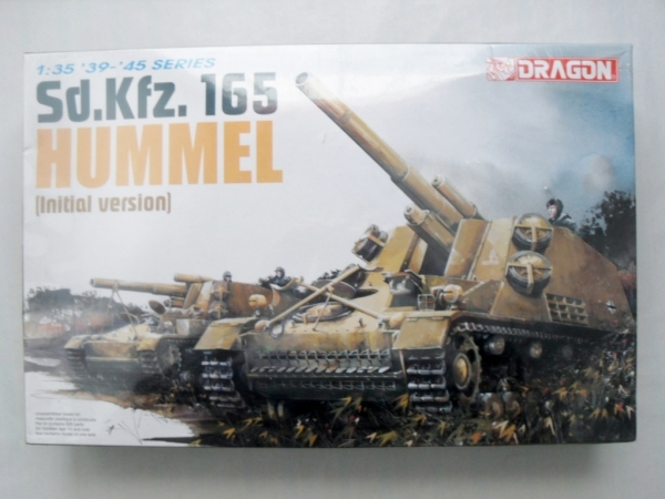 6150 Sd.Kfz 165 HUMMEL INITIAL VERSION