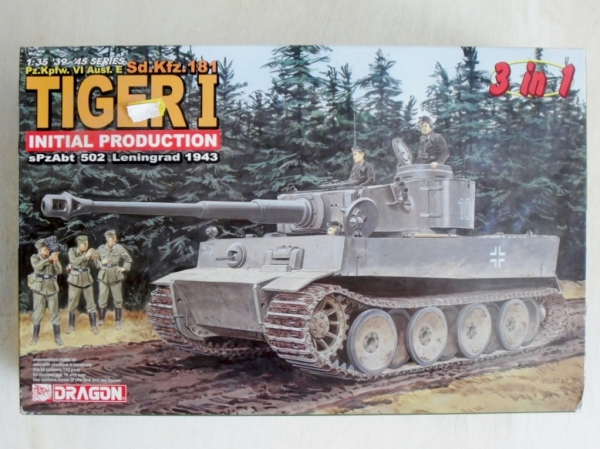 6252 TIGER I INITIAL PRODUCTION 3 IN 1