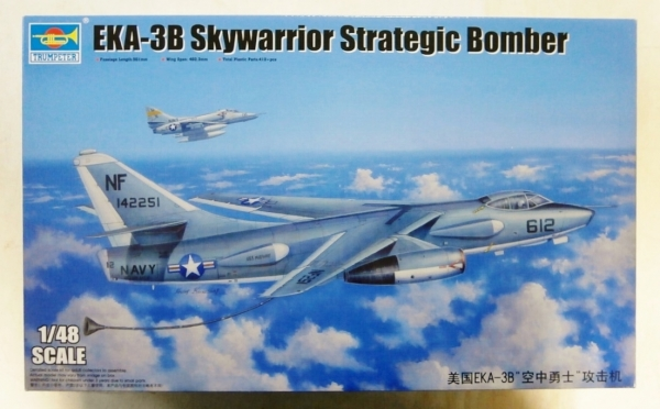 02872 EKA-3B SKYWARRIOR STRATEGIC BOMBER