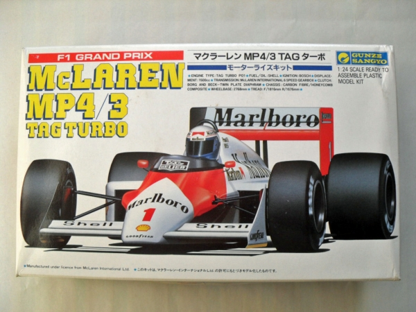G473 McLAREN MP4/3 TAG TURBO