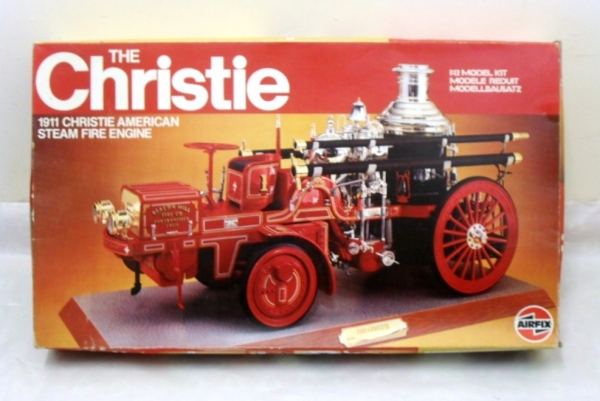 20442 THE CHRISTIE 1911 STEAM FIRE ENGINE  UK SALE ONLY