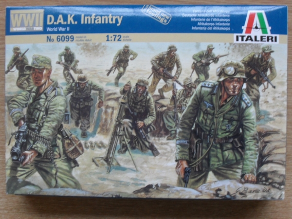 6099 WWII D.A.K. INFANTRY