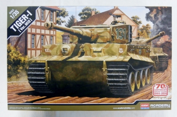 13287 TIGER I  VER. MID  NORMANDY 70th ANNIVERSARY