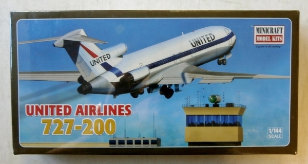 14465 BOEING 727-200 UNITED AIRLINES