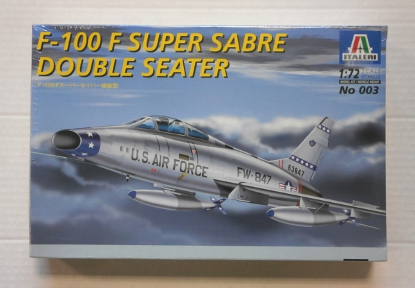 003 F-100F SUPER SABRE DOUBLE SEATER