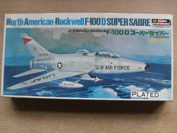 MJ-06 F-100D PLATED EARLY BOX