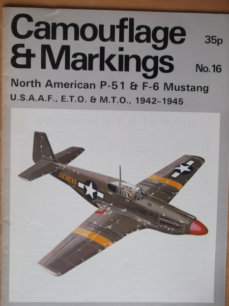 16. NORTH AMERICAN P-51   F-6 MUSTANG USAAF ETO   MTO 1942-45