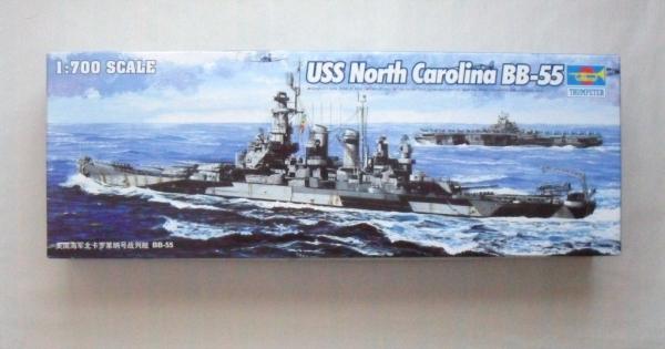 Trumpeter 1//700 05734 USS North Carolina BB-55