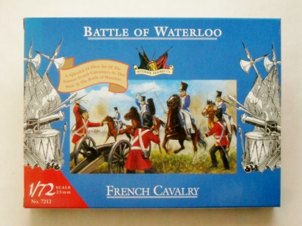 7212 WATERLOO FRENCH CAVALRY