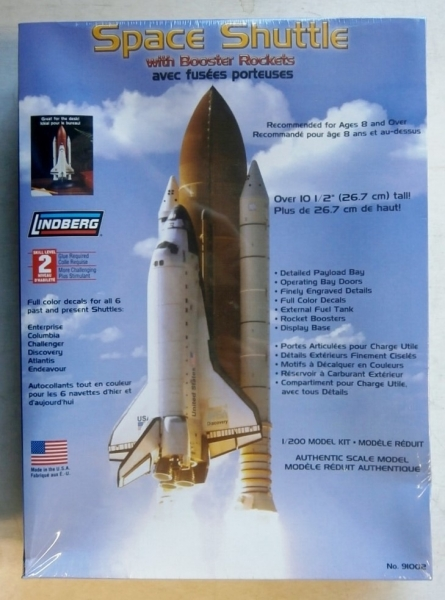 91002 SPACE SHUTTLE WITH BOOSTER ROCKETS