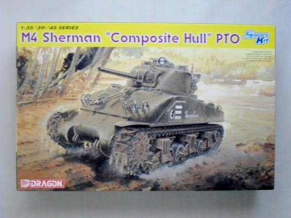 6441 M4 SHERMAN COMPOSITE HULL PTO