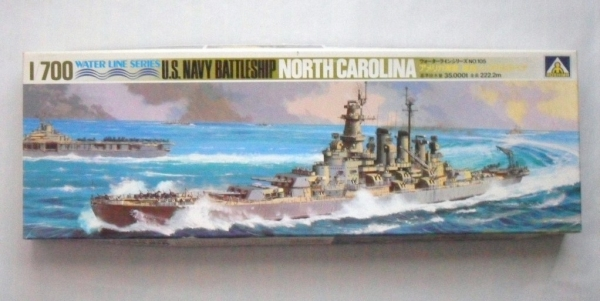 B105 USS NORTH CAROLINA