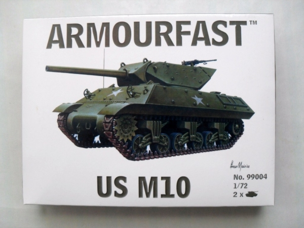 ARMOURFAST 1/72 99004 US M10 TANK DESTROYER