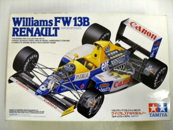 20025 WILLIAMS FW13B RENAULT