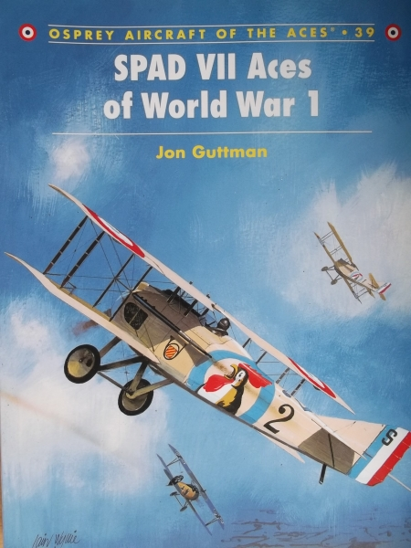 039. SPAD VII ACES OF WORLD WAR 1