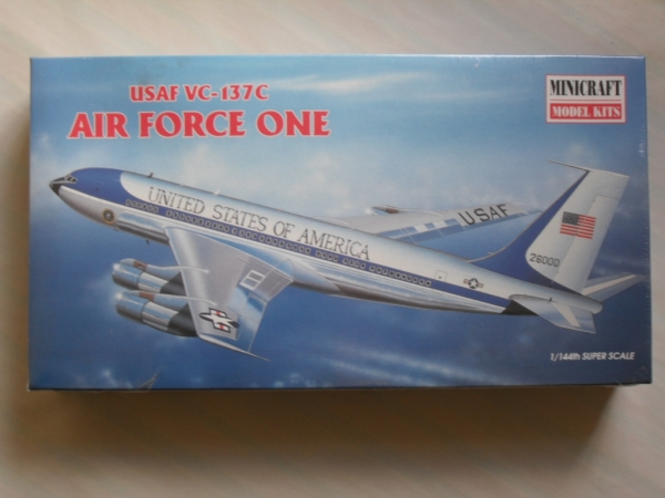 14457 USAF VC-137C  BOEING 707  AIRFORCE ONE