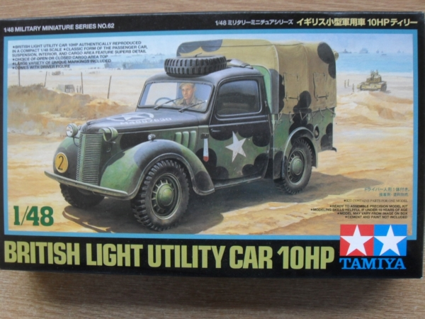 32562 BRITISH 10HP UTILITY CAR
