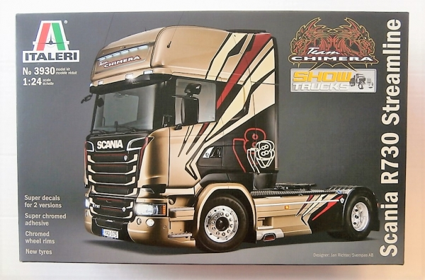 3930 TEAM CHIMERA SCANIA R730 STREAMLINE