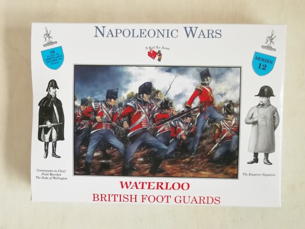 12 WATERLOO BRITISH FOOT GUARDS