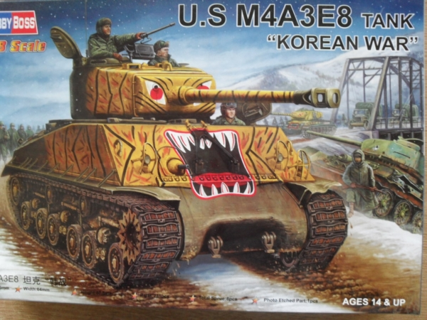 84804 M4A3E8 KOREAN WAR