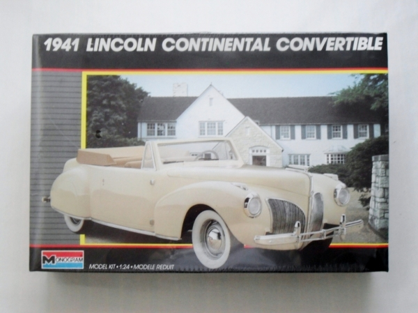 2312 1941 LINCOLN CONTINENTAL CONVERTIBLE