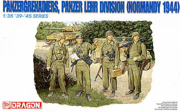 6111 PANZERGRENADIERS PANZER LEHR DIVISION NORMANDY 1944