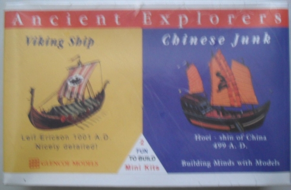 03301 VIKING SHIP/ CHINESE JUNK ODD SCALE