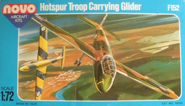 F152 HOTSPUR TROOP CARRYING GLIDER