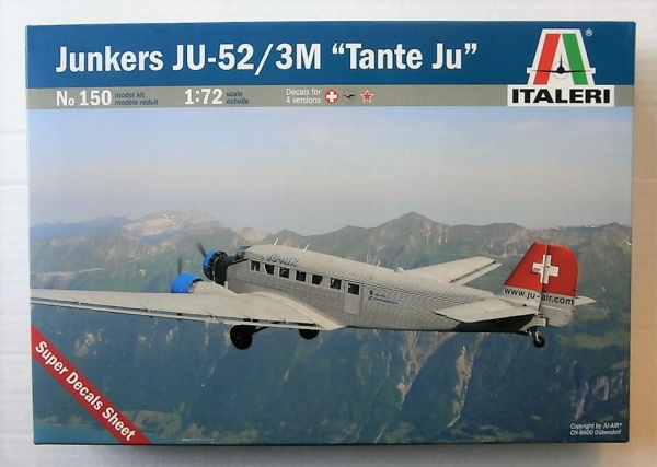150 JUNKERS Ju 52/3M CIVIL
