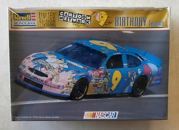 85-4133 9 CARTOON NETWORK WACKY RACING BIRTHDAY TAURUS