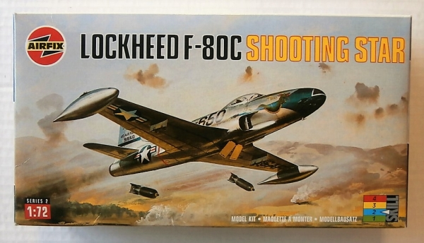 02043 LOCKHEED F-80C SHOOTING STAR