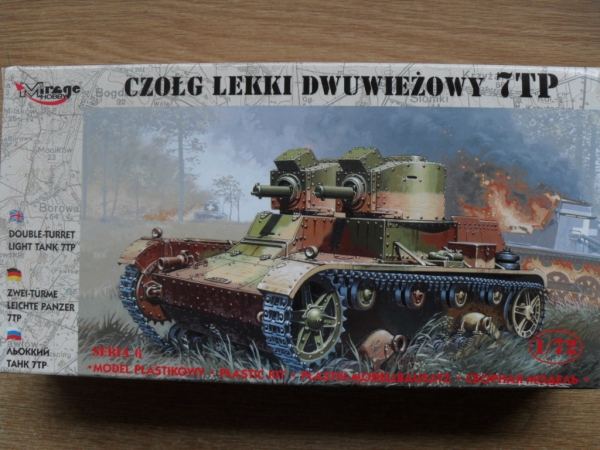 72602 7TP LIGHT TANK TWIN TURRET