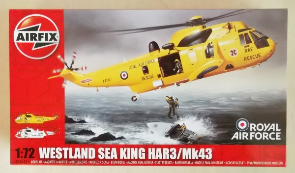 03043 WESTLAND SEA KING HAR3/Mk43  RAF