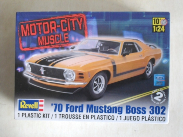 85-4943 70 FORD MUSTANG BOSS 302