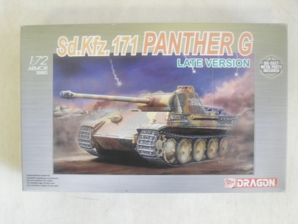 7206 Sd.Kfz 171 PANTHER G LATE VERSION
