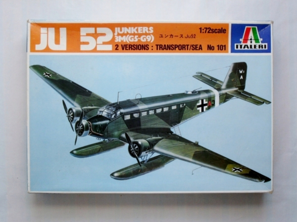 101 JUNKERS Ju 52/3M G5 G9 TRANSPORT/SEA