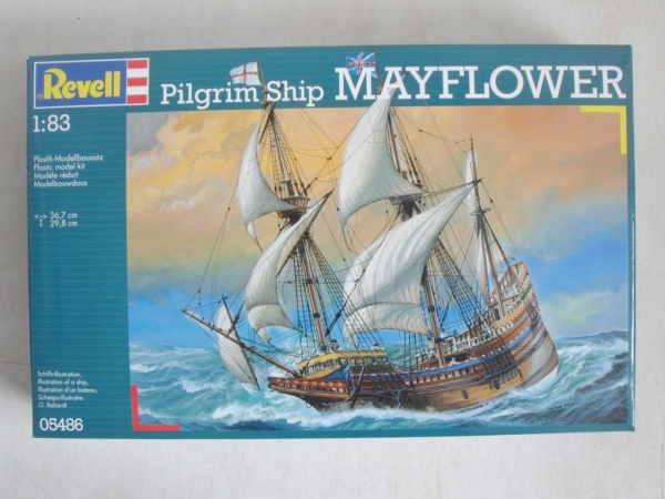 05486 MAYFLOWER PILGRIM SHIP 1/83