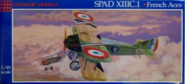 05118 SPAD XIIIC.I FRENCH ACES