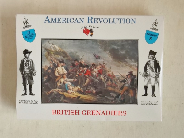 08 BRITISH GRENADIERS AMERICAN REVOLUTION
