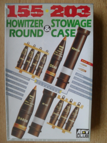 35017 155/203mm ROUNDS   CASES
