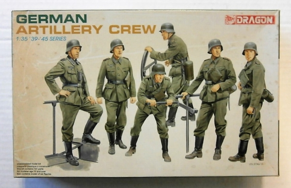 6201 GERMAN ARTILLERY CREW