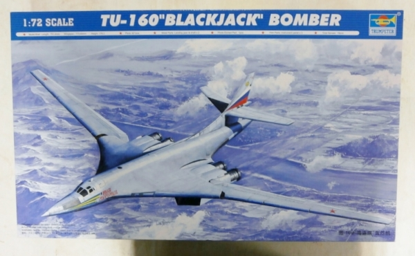 Trumpeter 1//72 01620 Tu-160 BlackJack