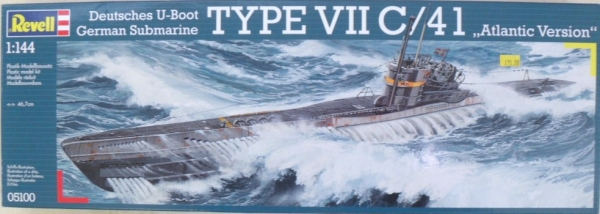 05100 U-BOAT TYPE VIIC/41 ATLANTIC