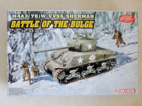 6255 M4A3 76 W VVSS SHERMAN BATTLE OF BULGE