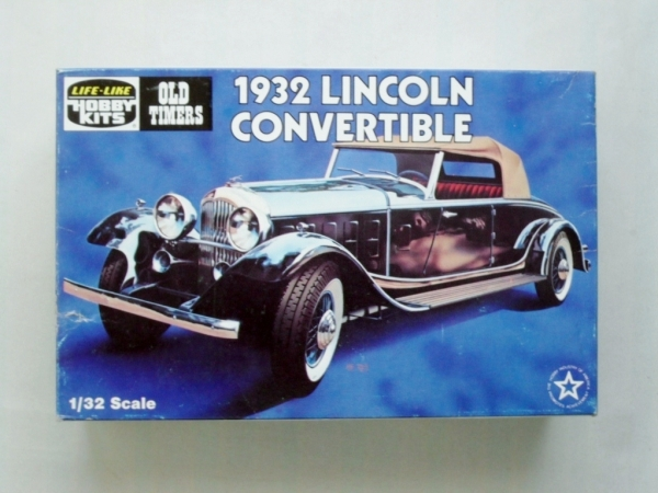 9342 1932 LINCOLN CONVERTIBLE