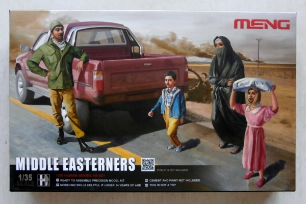 HS-001 MIDDLE EASTERNERS