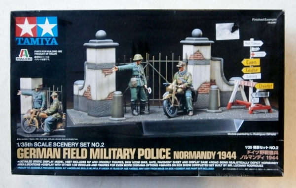 89740 GERMAN FIELD MILITARY POLICE NORMANDY 1944
