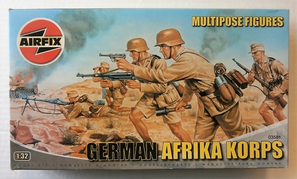 03581 GERMAN AFRIKA KORPS  6 FIGURES