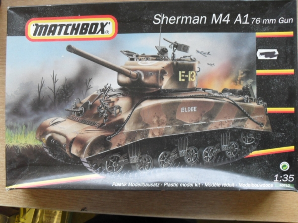 40712 SHERMAN M4A1 76mm GUN